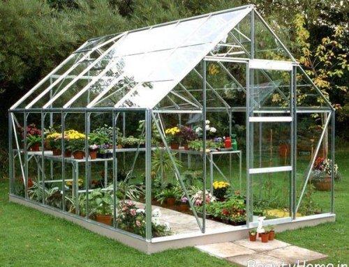 ساخت گلخانه خانگی