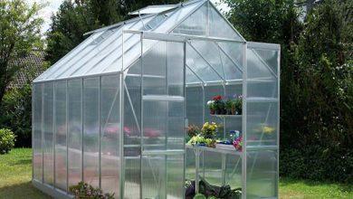 تصویر ساخت گلخانه خانگی